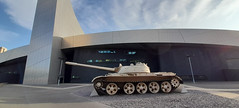 Photo of 18th September 2020. Russian T55 Tank at Imperial War Museum North, Trafford Park, Manchester