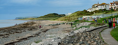 Photo of Looking from Seascale to St Bees Head, Cumbria, England