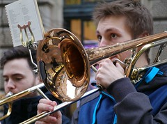 Photo of Musicians, Glasgow city centre.  (IMG_4252)