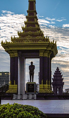 Statue of King Father Norodom Sihanouk, Phnom Penh