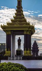 Statue of King Father Norodom Sihanouk, Phnom Penh
