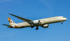 Photo of A6-BMC Boeing 787-10 Dreamliner Etihad Airways