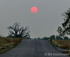 September 18, 2020 - Smoky sunrise at the Arsenal. (Bill Hutchinson)