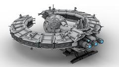 LEGO Droid Command Ship