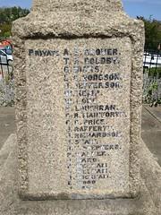 Photo of Carlin How War Memorial
