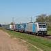 Kaarst RTB Cargo 185 671 met trailers