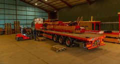 Photo of Delivering Load 3/13 of Bijlsma Hercules Tattie Proccesing System to the Laurencekirk/Fettercairn Area 21/09/2020
