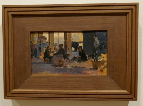 """""""Puerto de San Sebastián"""", 1890-1892, Joaquín Sorolla y Bastida (1863-1923), Musée des Beaux-Arts, Bilbao, Biscaye, Pays basque, Espagne."""