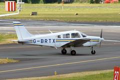 Photo of G-BRTX Piper PA-28-151 Cherokee Warrior