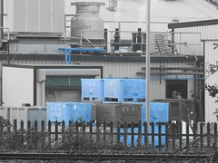 Photo of Blue boxes
