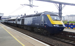 Photo of Class 43 ScotRail HST 125 (43144) at Stirling Station, Scotland
