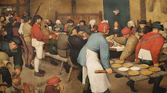 Bruegel, Peasant Wedding