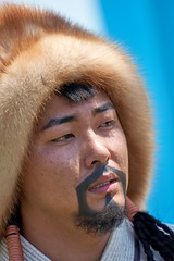 """Chinggis Khan"" during Naadam Festival"