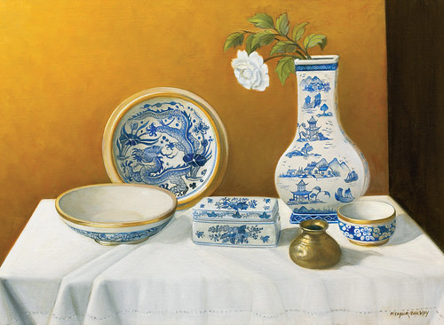 Maura Taylor Buckley China Blue