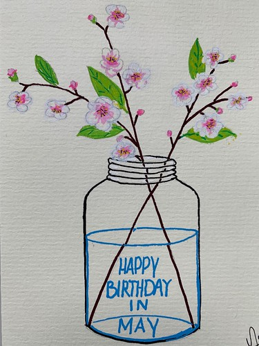 Birthday card for N.