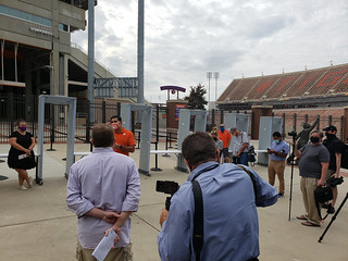 Walk-through of the Stadium/Fan experience Photos