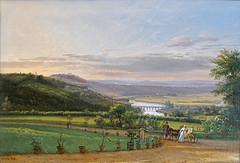 La vallée de la Seine depuis Bellevue de F.-E. Ricois (Musée départemental de Sceaux)