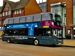 Photo of Editing photography in Solihull on New NXWM Electric Vehicles Route 6.