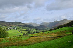 Photo of 20LAK007 Looking up the Troutbeck Valley from the Garburn Road
