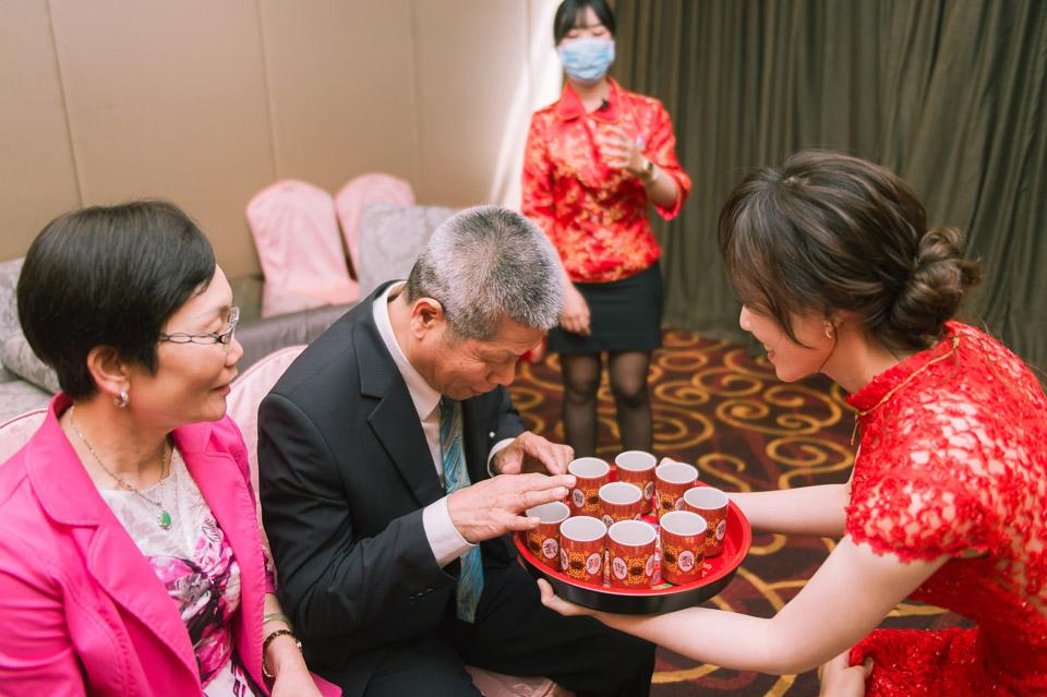 台南婚攝 Y&Z 台糖長榮酒店 婚禮攝影 017