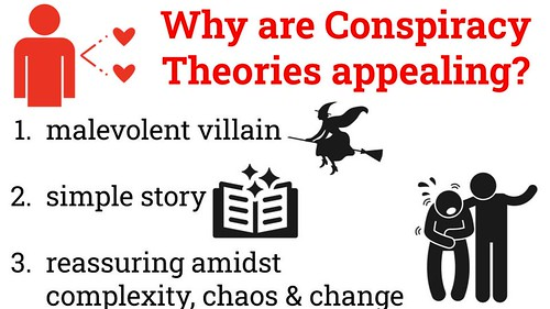 Why are Conspiracy Theories Appealing by Wesley Fryer, on Flickr