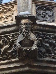 Photo of Medieval sculpture - Lincoln Castle, UK