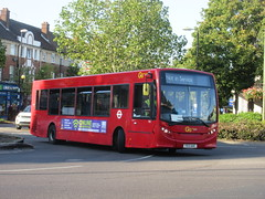 Photo of Go Ahead London Metrobus 755 YX13AHC Running Light in Orpington