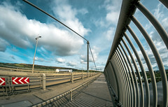Photo of Wallk way, Erskine Bridge, Renfrewshire, Scotland, UK