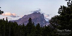 Hallett peak in the early morning light