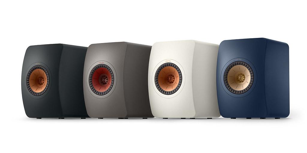 LS50系列新品LS50 Meta書架型揚聲器共推出四款新色,多元化色系與家居完美融合