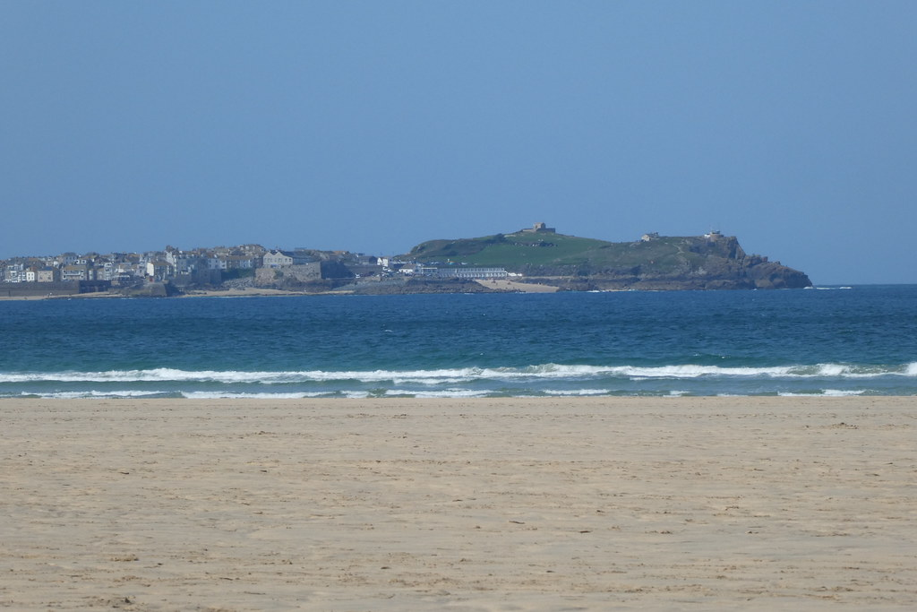 St Ives from Mexico Towans