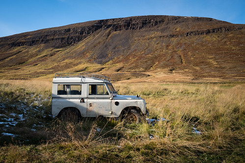 """Abandoned Land Rover on a autumn afternoon • <a style=""""font-size:0.8em;"""" href=""""http://www.flickr.com/photos/22350928@N02/50382517613/"""" target=""""_blank"""">View on Flickr</a>"""