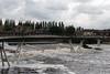 The Millenium Bridge at Castleford