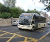 Eve Coaches Optare Solo E24 on Court Street, Haddington.