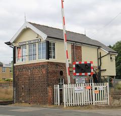 Photo of Kiveton Park station signal box