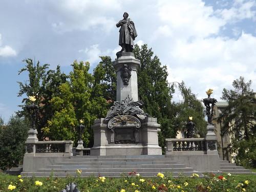 Pomnik Adama Mickiewicza, Warsaw, Poland
