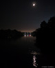 Otonabee River, night