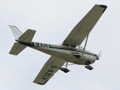 Photo of G-AZLV RAF Waddington 20 July 2020