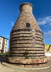 Photo of 1909 bottle kiln, Portobello