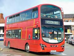 Photo of Vision Bus Wright Eclipse Gemini 2 Volvo B9TL BJ11 DTF