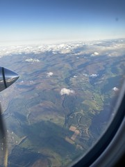 Photo of Flight from Glasgow to Kirkwall, north of Alyth