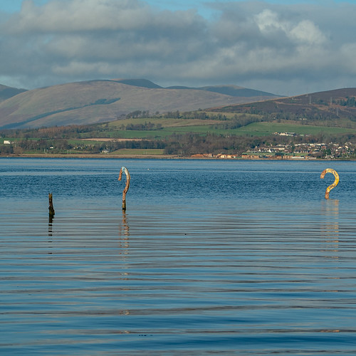 Art installations in the Clyde