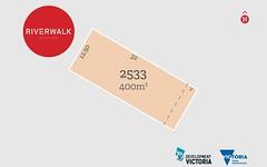 Lot 2533 Kalindi Street, Werribee VIC