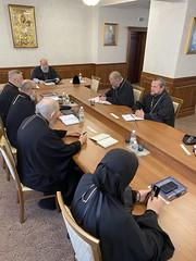 28/09/2020 - Состоялось очередное заседание Епархиального совета