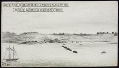 Cape Ann, Massachusetts—Landing place of the Mackay-Bennett Dover Bay Cable / Cap Ann, Massachusetts; point de débarquement du câble de la baie Dover de la société Mackay-Bennett