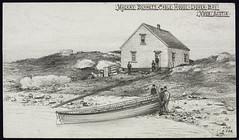Mackay-Bennett Cable House, Dover Bay, Nova Scotia / Station d'aboutissement de câble de la société Mackay-Bennett, baie Dover (Nouvelle-Écosse)
