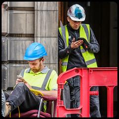 Photo of Men at Work