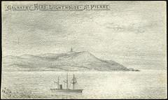 Galantry Head Lighthouse, St-Pierre / Phare sur la tête de Galantry, Saint-Pierre