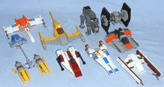 Lego - Star Wars Mini Vehicles