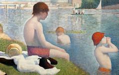 Seurat, Bathers at Asnières